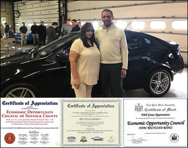 The EOC of Suffolk, Inc. attended an affair hosted by The Collision Center