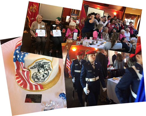 Luncheon to assist in promoting women involved in the military.