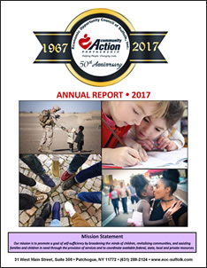 The 2017 Annual Report front cover photo