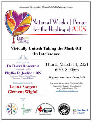 Register for the National Week of Prayer for the Healing of HIV/AIDS